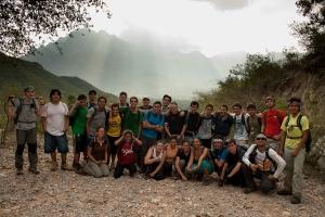 Grupo casi al final. Foto: Roberto de los Santos