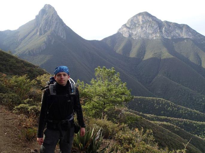 Vista de los picos centrales de los Picachos de Minillas, Los Tejocotes y Las Animas