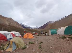 Campamento en Confluencia: